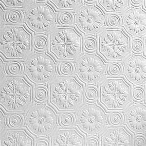 Flower Wallpaper Paintable Luxury Embossed Textured Vinyl ...
