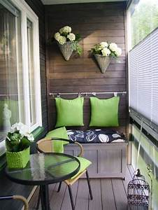 Table Pour Petit Balcon : am nagement de petit balcon 40 id es d coration ~ Melissatoandfro.com Idées de Décoration
