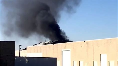 fire breaks    texas rangers stadium