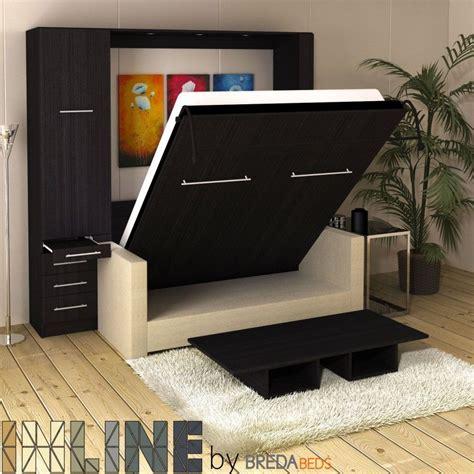 inline murphy bed  hutch  inline sofa