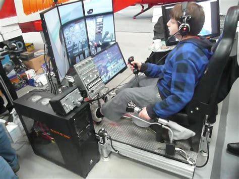 Rc Desk Pilot Keyboard Controls by Flight Sim Chair Roselawnlutheran