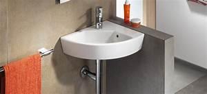 Lavabo D Angle Salle De Bain : lavabo lave mains d 39 angle hall de roca salle de bains ~ Nature-et-papiers.com Idées de Décoration