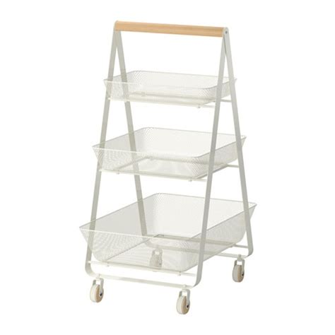 kitchen storage trolleys risatorp desserte ikea 3194