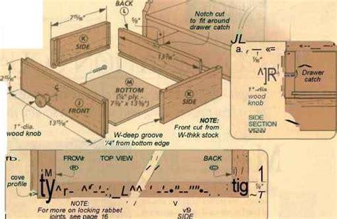 mail bins drawer vii evvoded harvest table woodworking