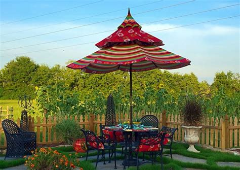 Pagoda Style Patio Umbrella by 45 Patio Umbrella Ideas Sun Shade Sail Designs For Backyard
