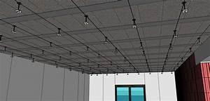 Suspentes Placo Tige Filetée : comment faire un plafond suspendu en placoplatre b tir ~ Dailycaller-alerts.com Idées de Décoration
