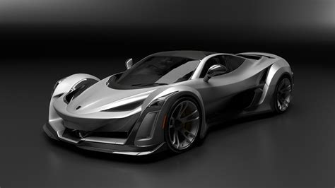 Porche Supercar by Canada S Anibal Shows 920 Horsepower Supercar Based On