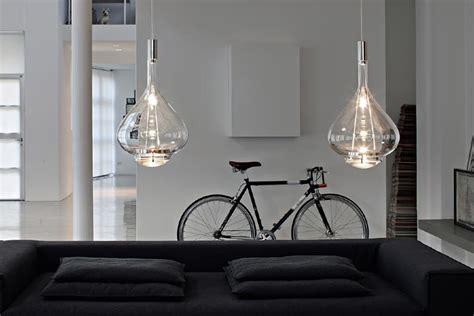 suspension cuisine verre luminaire suspension verre souffle