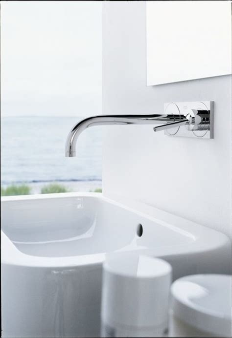 Hansgrohe Axor Uno Wall Mounted Single Handle Faucet Trim
