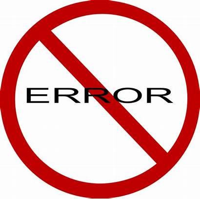 Error Sign Clip Clipart Clker Vector Hi