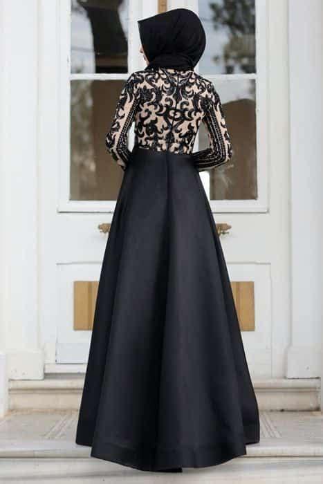 inspirasi desain gaun pesta muslim terbaru