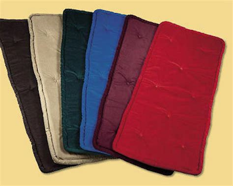 jansen piano bench pad cushion cover color  size choice