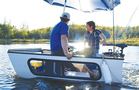 Diy Boat by The Brojects Diy Ultimate Fishing Boat Cottage Country