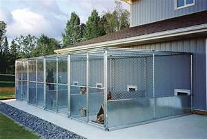 tips for proper kennel ventilation installation With steel dog kennels and runs