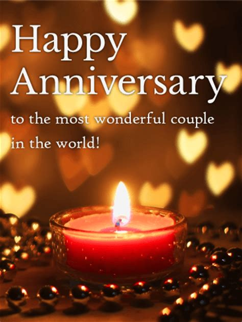 worlds  wonderful couple happy anniversary