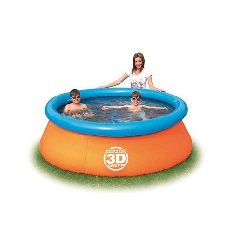piscine gonflable 3d