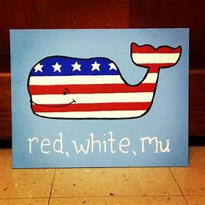 red white and mu, phi mu canvas! vineyard vines and ...