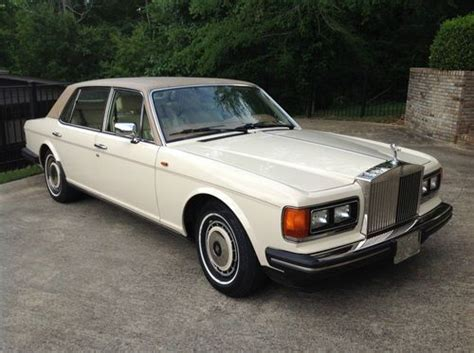 Sell Used 1991 Rolls Royce Silver Spur Base Sedan 4-door 6