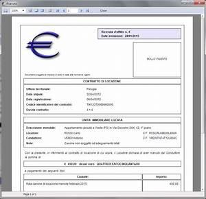ERA 5 0 Euro Ricevute di Affitto Software per l'emissione di ricevute di affitto e la stampa