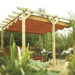 verona wooden pergola garden sun canopy gazebo direct