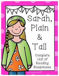 FREE Comprehension Packet for Sarah, Plain and Tall by ...