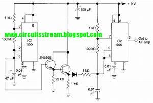 Simple Siren Alarm Circuit Diagram