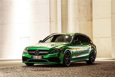 mercedes amg tuning wimmer tuned mercedes amg c63 s estate is more powerful