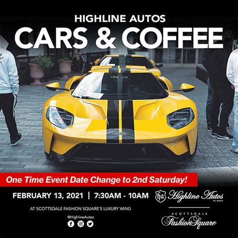 We at synergy wealth management now organize the event to facilitate a gathering of responsible car enthusiasts to preserve that love of. Highline Autos Cars & Coffee at the Luxury Wing of Scottsdale Fashion Square Mall - Highline ...
