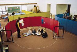 acoustical preschool room dividers screenflex room dividers 148 | preschool curved