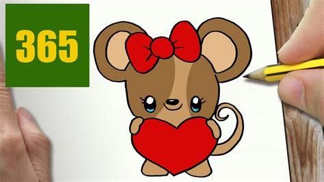 comment dessiner aimer la souris kawaii 201 par 201 dessins kawaii facile