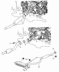 2009 Jeep Patriot Engine Diagram : 68045346aa genuine mopar converter exhaust ~ A.2002-acura-tl-radio.info Haus und Dekorationen
