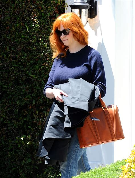 Christina Hendricks Street Style - April 2014 • CelebMafia