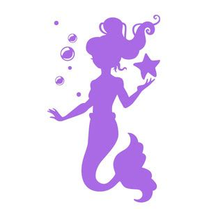 christmas shopping pic silhouette design store view design 269837 mermaid