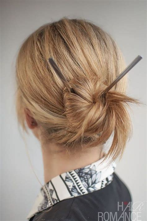 Japanese Hairstyles Buns by 10 Japanese Hairstyles With Sticks Hairstyles