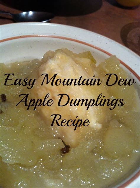 Easy Mountain Dew Apple Dumplings Recipe - Home Sweet Decor