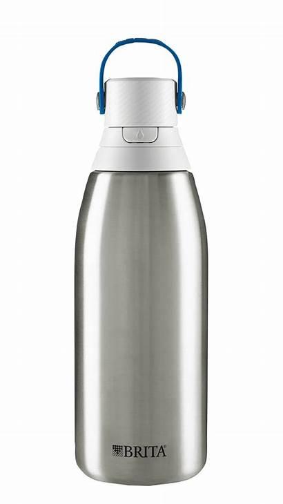 Water Bottle Brita Stainless Steel Premium Filter