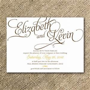 wedding invitation ideas all about wedding With fancy writing wedding invitations