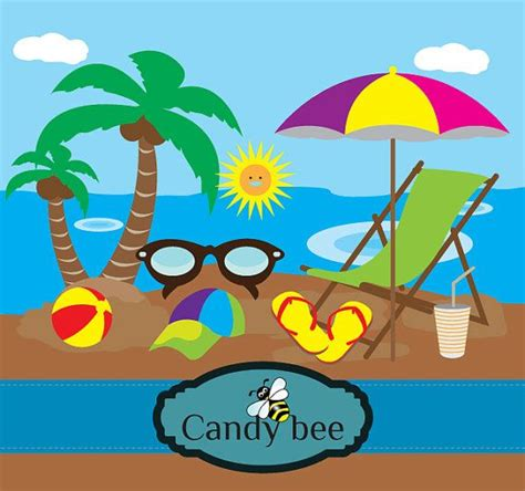 Vacation Clipart Clipart Clip Summer Vacation Travel Clipart