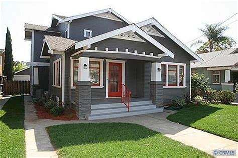Long Beach Ca Craftsman Bungalow  Bungalow Homes Pinterest