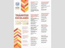 Calendario Trámites Escolares UNAM