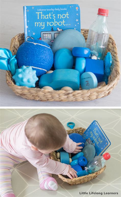 baby play   months baby discovery basket