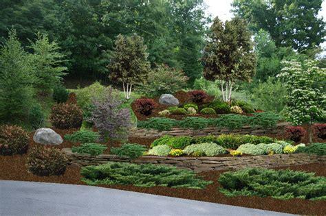 hillside slope hillside landscaping ideas home hillside terrace view 3d landscaping gardening pinterest
