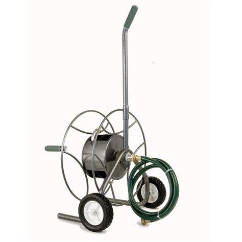 yard butler hose reel yard butler htc 1 compact hose truck with 2 wheels 100 1682