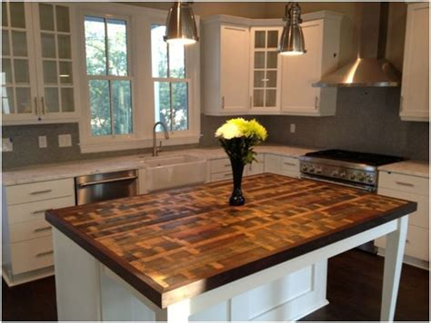 kitchen island with wood top 31 best reclaimed wood kitchen island images on
