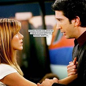 Do u think RACHEL was being rude to ROSS ? - vrienden ...