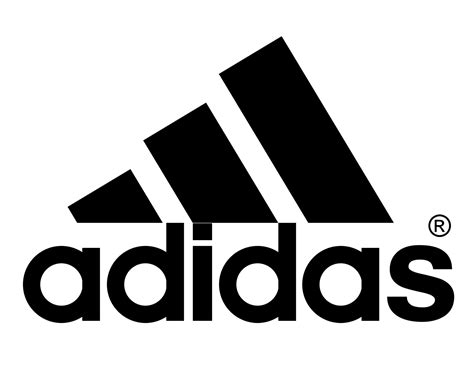 adidas logo png transparent background famous logos