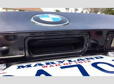 BMW E39 Trunk Release Switch Replacement DIY YouTube