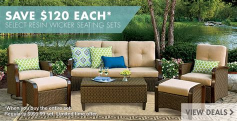 patio furniture outdoor living big lots