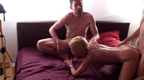 German Big Tit Milf In Privat Group Sex With 3 Young