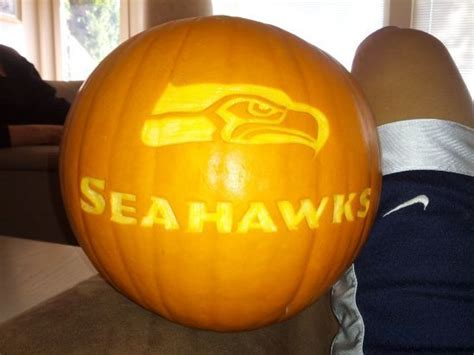 seahawk pumpkin ideas todays  mom